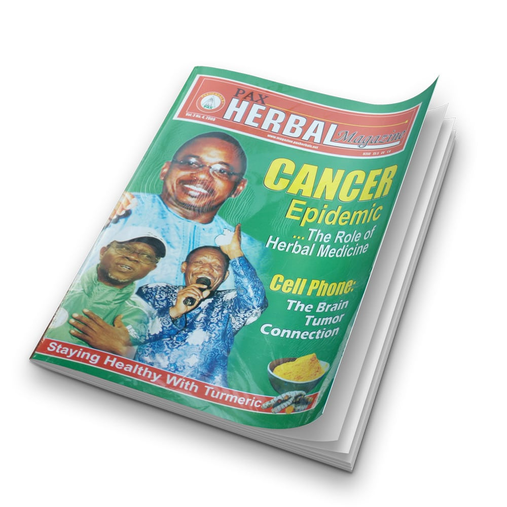 Paxherbal magazine (Cancer Epidemic) product image